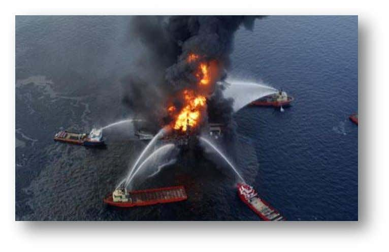 barrels of crude oil to pollute the Gulf of Mexico each day. The disaster was quickly