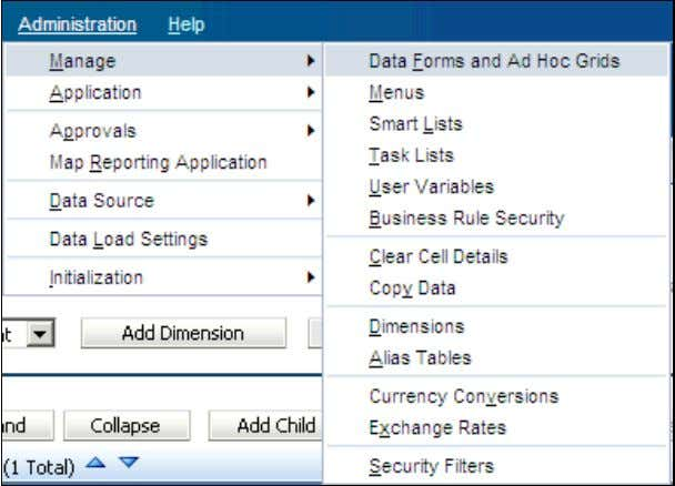 6 . The Data Form Management page is displayed. After making changes to your application,
