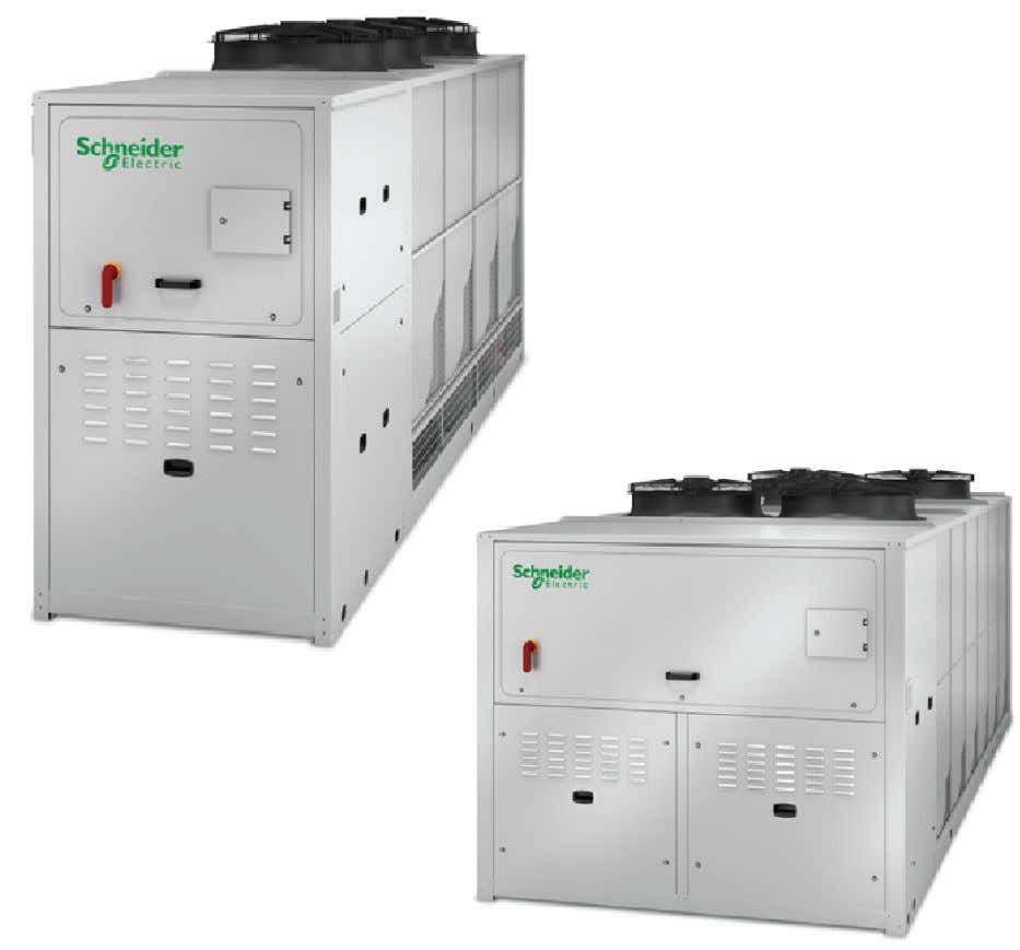 Air-Cooled Chillers, Free-Cooling Chillers, and Heat Pumps Uniflair™ TRAC, TRAF, TRAH 400V/3Ph/50Hz, 120 - 350 kW