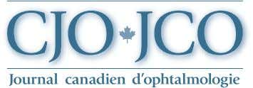 The Canadian Journal of Ophthalmology is the official journal of the Canadian Ophthalmological Society and