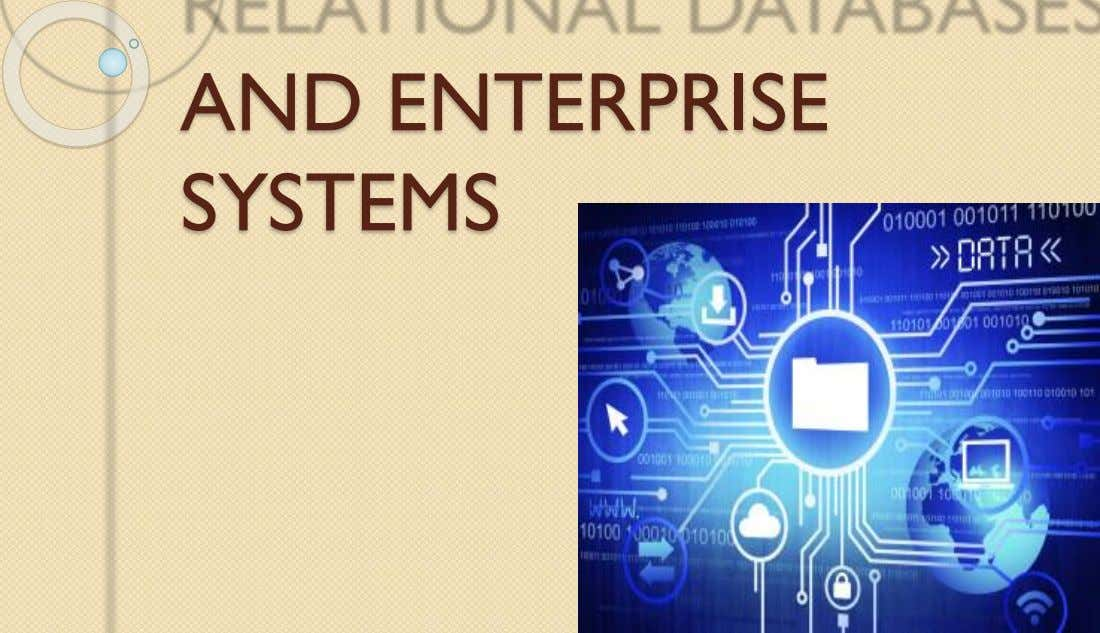 AND ENTERPRISE SYSTEMS
