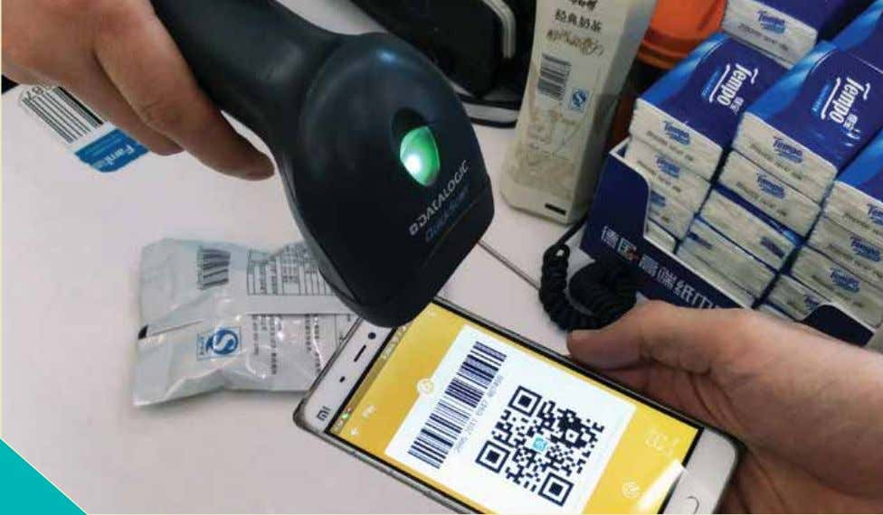 Alipay was actually the first to use QR codes for payments when it launched QR