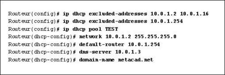 Interface fa0/0/1, entrant Interface fa0/0/1, sortant Lisez l'exposé. Comment les informations TCP/IP