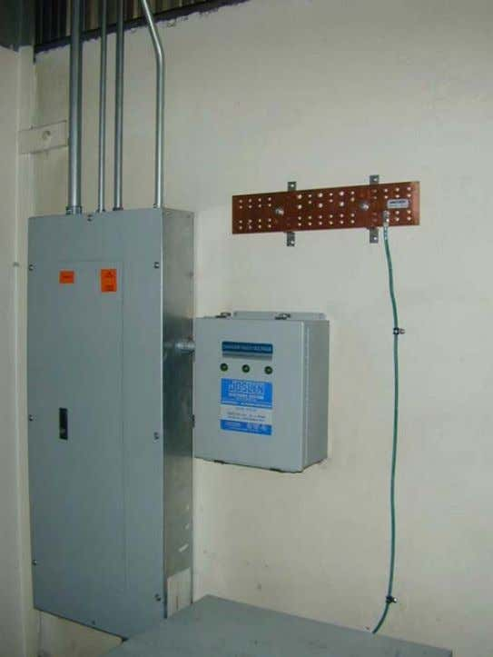Panelboard 5.2.6.1 Where a panelboard (electrical power panel) is located in the same room or space