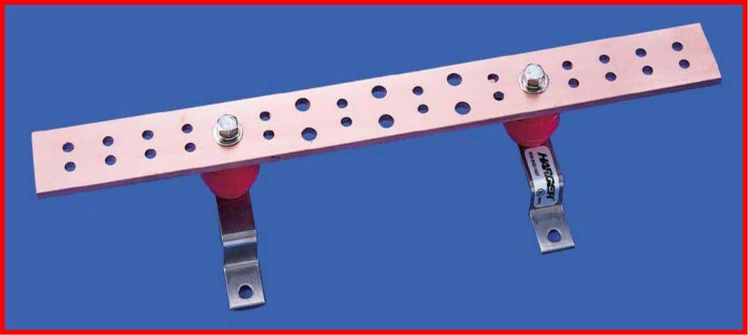 Telecommunications Grounding Busbar (TGB) The TGB is the grounding connection point for telecommunications systems and