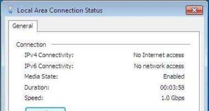 this master PC. 4. Open the local area connection network properties and configure as bellow: 3