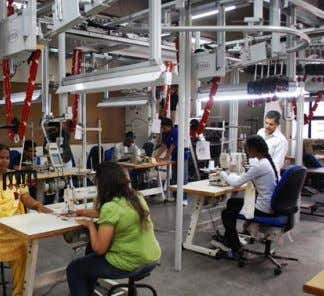APPAREL production YEAR 3 The third year imparts knowledge in production planning, operations management, quality