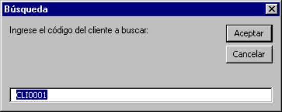 "a buscar:"", _ ""Búsqueda"", ""CLI0001"") Formato InputBox( prompt [, title] [, default] [, xpos]"