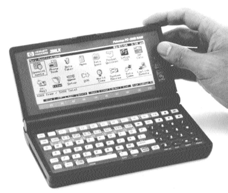 CGA text display. The 64 by 18 mode is used by most of the internal software.