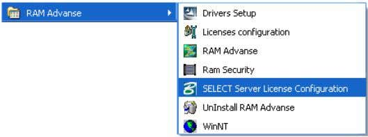 se | Bentley License Server Configuration as shown below: If this is being set for the