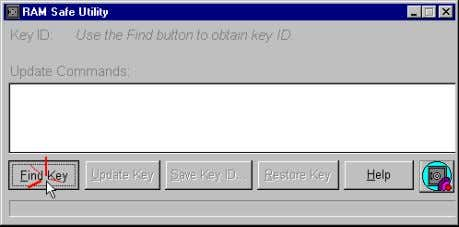 This command w ill detect the key identification (Key ID). 6) Carefully take note of the