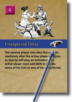 round, then either player could play this card to modify. An Interrupt Card The passive player
