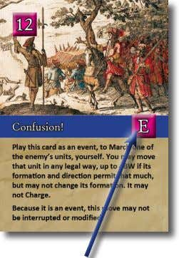 active player's round by playing this card for its effect. An Event Card If the active