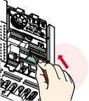 terminals. * * : Main circuit terminal is screw terminal. • Easy wiring Wiring is completed