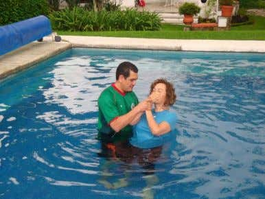 Mexico. Pat- rick has been studying with his landlady named Lourdes' Baptism Lourdes who we've all