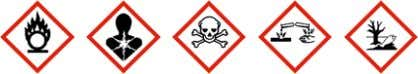 Reduced labelling (≤125 ml) Hazard pictograms Signal word Danger Hazard statements H350: May cause cancer.