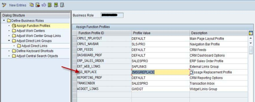 as given as shown above (DEFAULT or custom profile value). SAP COMMUNITY NETWORK SDN - sdn.sap.com