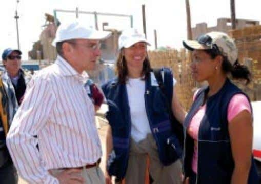 of the infectious diseases that often follow such disasters. USAID Peru Disaster Relief Officer Jessica Jordan,