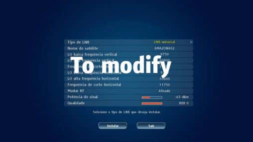 To modify