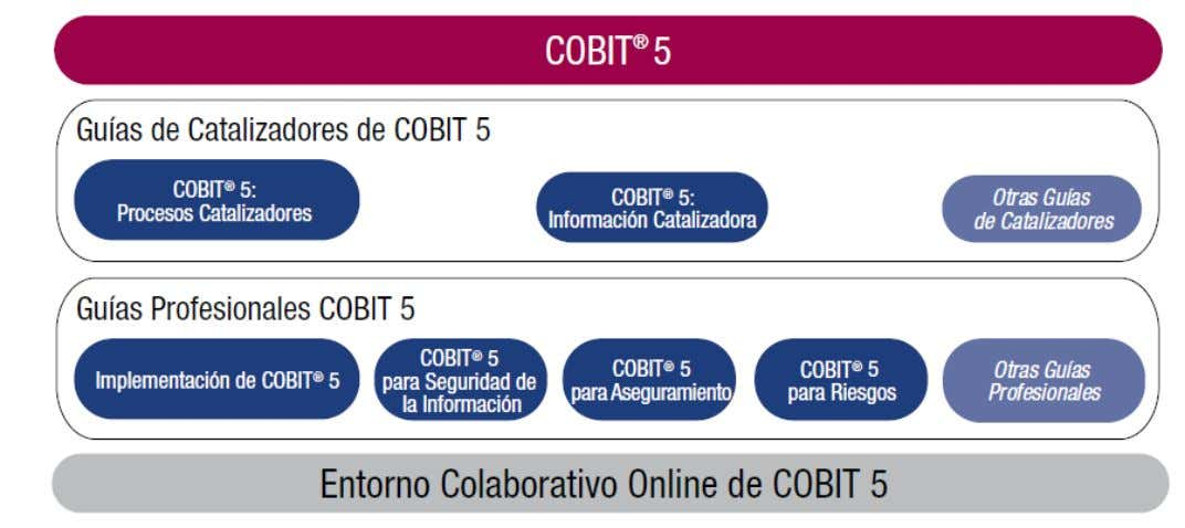 Familia CobiT 5 Fuente: COBIT 5, © 2012 ISACA All rights reserved.