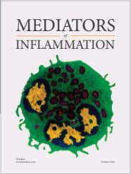 MEDIATORS of INFLAMMATION Hindawi www.hindawi.com Volume 2018