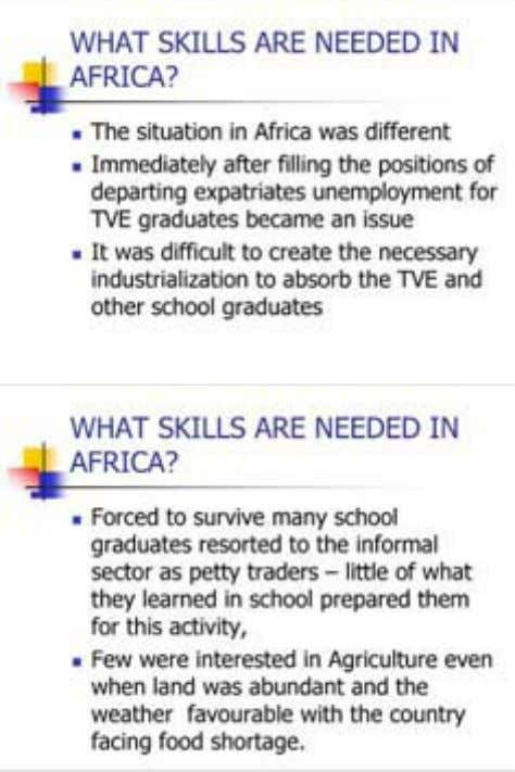 Technical and Vocational Education and Training 120