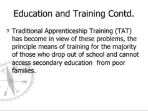 Technical and Vocational Education and Training 32