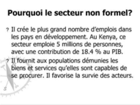 Education and Training « Transition vers le monde du travail » M. Pascal Wambiya, Bureau de