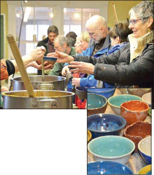 online at https://give.vtfoodbank.org/EmptyBowl. • • • Local Solar Company Puts Employees to Work Volunteering at