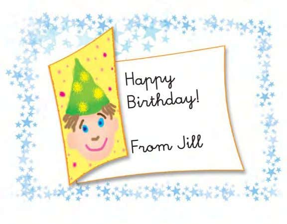 Happy Birthday! From Jill