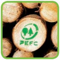 is verified, you are PEFC Chain of Custody certified. Second, starting buying PEFC-certified material Once you