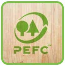 you to demand PEFC-certified supply from your supplier(s). Third, use the PEFC label on certified products