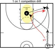 1 on 1 competition drill c x1 Frame 1 1
