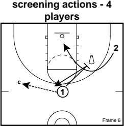 screening actions - 4 players 2 c 1 Frame 6