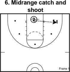 6. Midrange catch and shoot 2 1 Frame 1