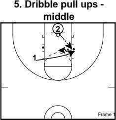 5. Dribble pull ups - middle 2 1 Frame 1