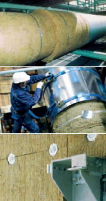 ProRox pre-formed Pipe Sections: ProRox Pipe Sections are supplied, split and hinged for easy snap-on