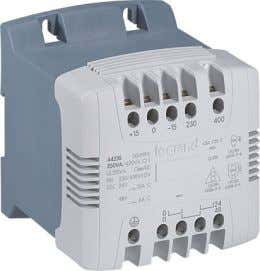 Legrand Transformers - Control, Signalling And Isolation 40VA to 4000VA DIN rail or mounting plate fixing