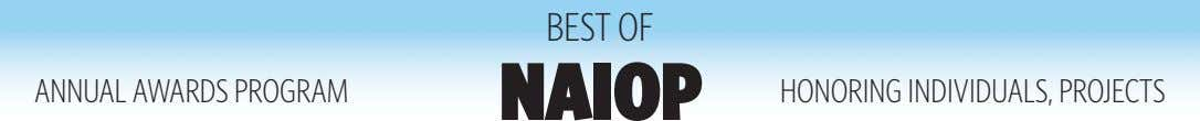 BEST OF ANNUAL AWARDS PROGRAM NAIOP HONORING INDIVIDUALS, PROJECTS