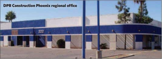 DPR Construction Phoenix regional office