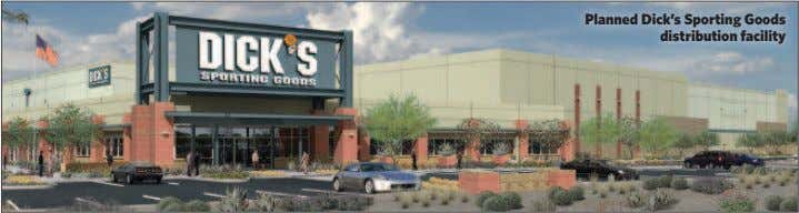 Planned Dick's Sporting Goods distribution facility