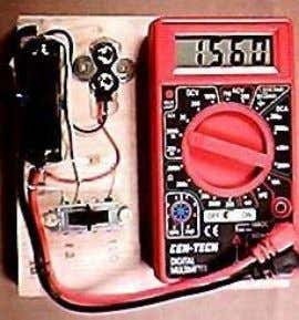 AA 120 9 V Ohm 1.5V Ohm Battery State Of Charge Tester Any digital meter can