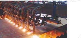 plate cutting, assembling, welding and straightening lines. Technical Specification: Web Height Web Thickness Flange