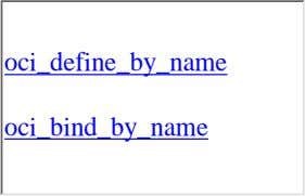 oci_define_by_name oci_bind_by_name