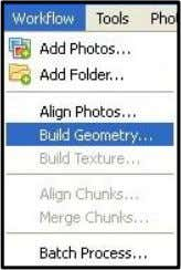 DSM. Pilih menu Build Geometry > Workflow. Gambar 3.46 Build Geometry 2. Maka akan muncul tampilan