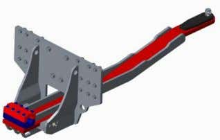 Plate (Tools Required for Hook-up or Removal of Scraper) AS01660 Quick Hitch Drawbar and Hitch Plate