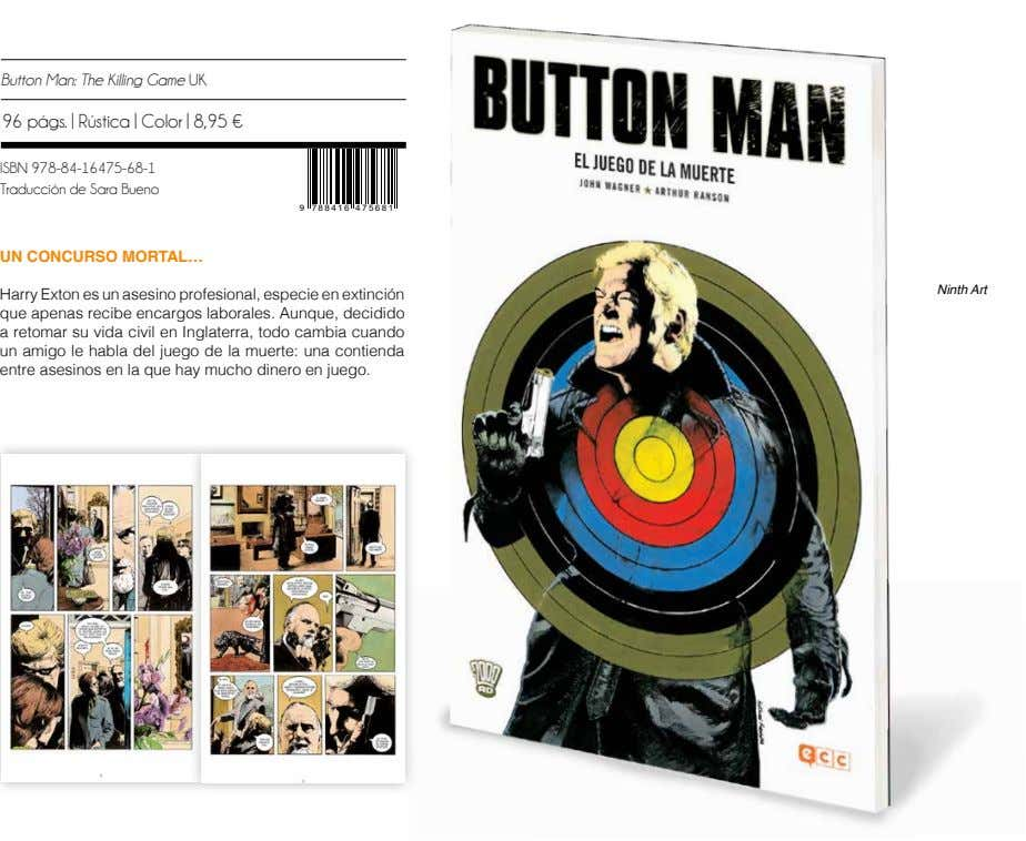 Button Man: The Killing Game UK 96 págs. | Rústica | Color | 8,95 €