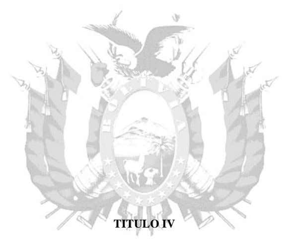 TITULO IV
