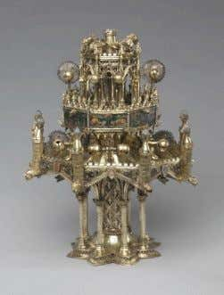 such as Leonardo da Vinci's lion and theatrical props. The jewellery-quality automata such as the 14th