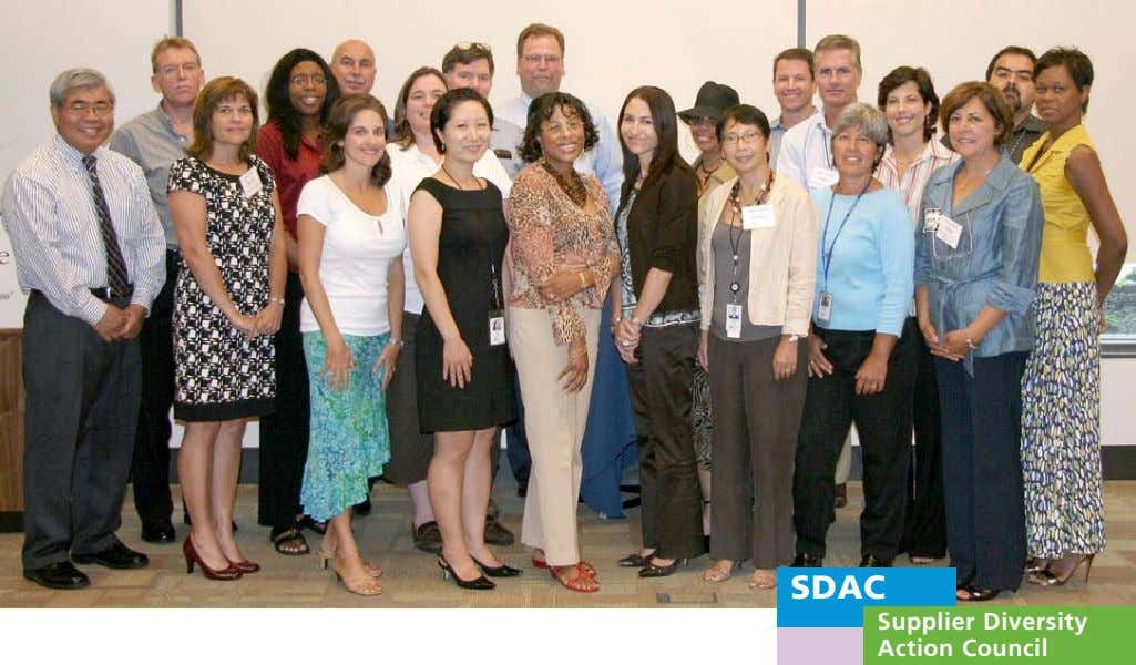SDAC Supplier Diversity Action Council